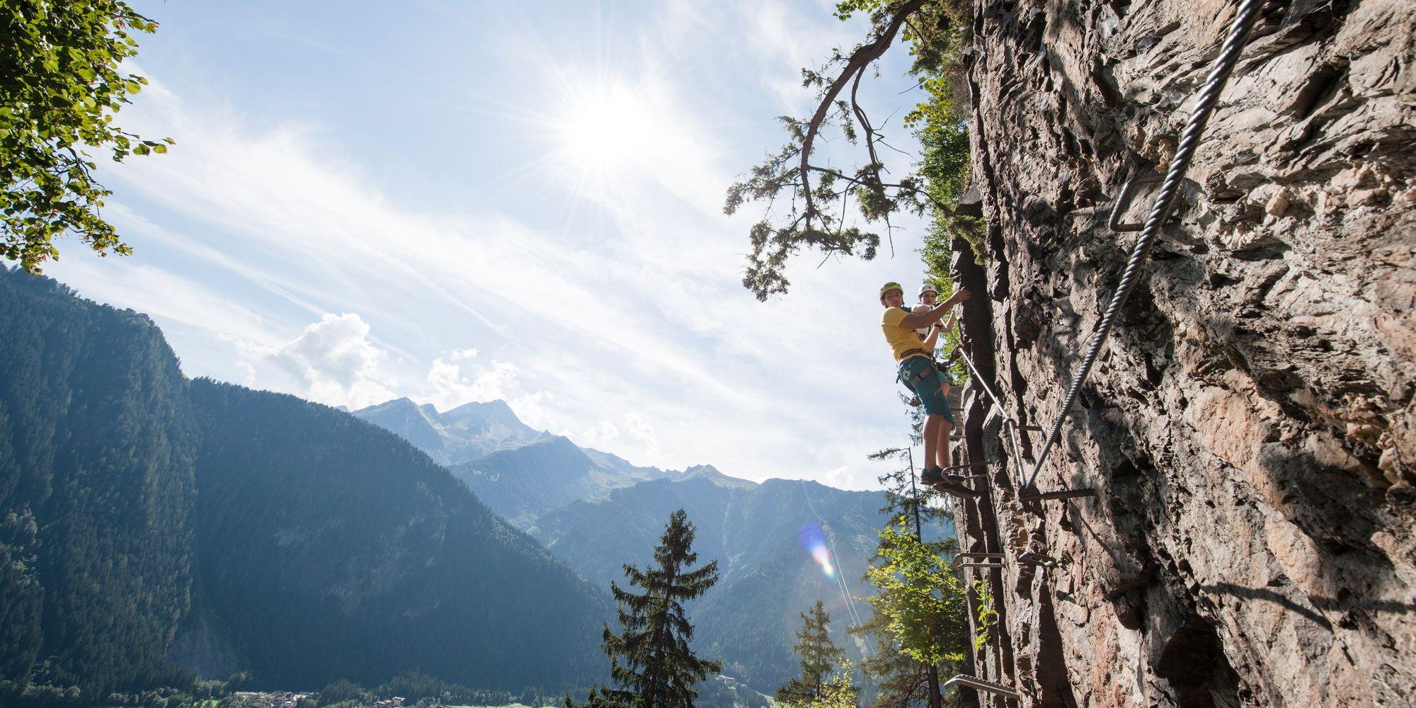 Klettersteig im Zillertal
