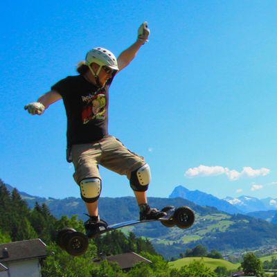 Mountainboarding im Zillertal