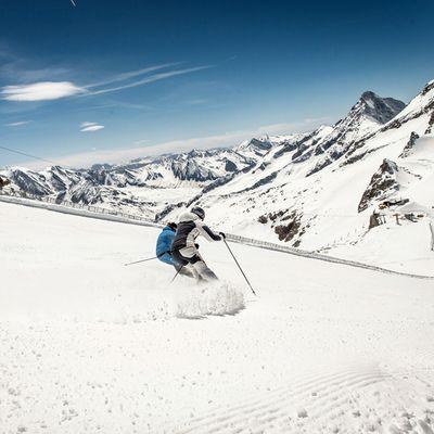 Abfahrt auf den schönsten Pisten Tirols