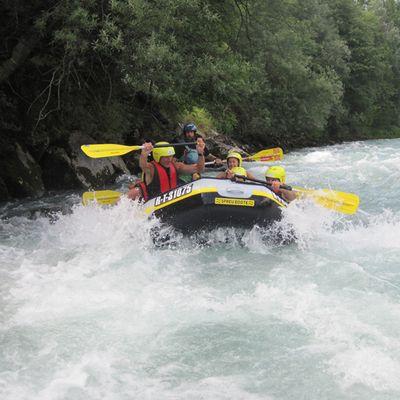 Rafting im Wildwasser