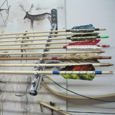 Bogenschießausrüstung in allen Farben