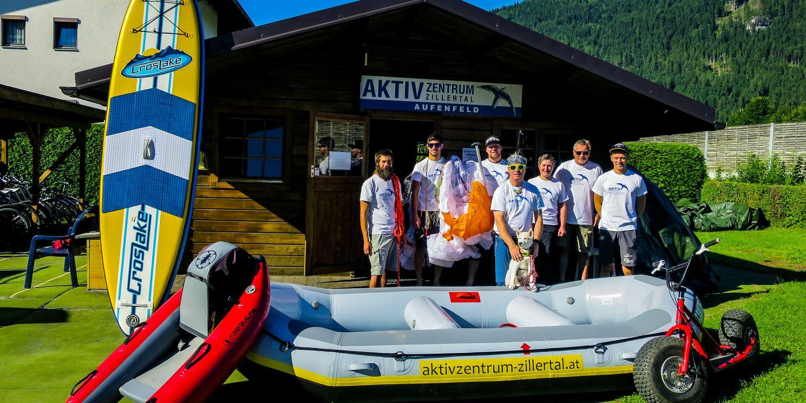 Team des Aktivzentrum Zillertal