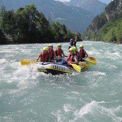 Rafting am Ziller